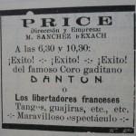 FOTO_3. Pie: Anuncio en ´Espectáculos de Madrid´. Hemeroteca Municipal de Madrid.