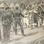 Plaza de Maimón Mojatar. La Ilustración Ibérica, 1894