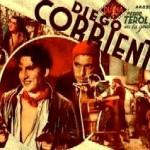 Cartel de la película 'Diego Corrientes' filmada en 1936.