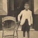 Una imagen de Moreno a mediados de los años 40. Colección familiar