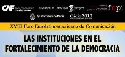 Inaugurado el XVIII Foro Eurolatino de Comunicación   Universo Gaditano 0db4a018b24