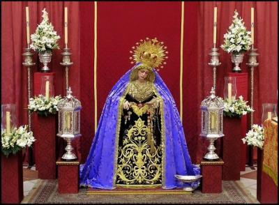 María Santísima Reina De Todos Los Santos Conmemora El 50 Aniversario De La Sagrada Cena Universo Gaditano